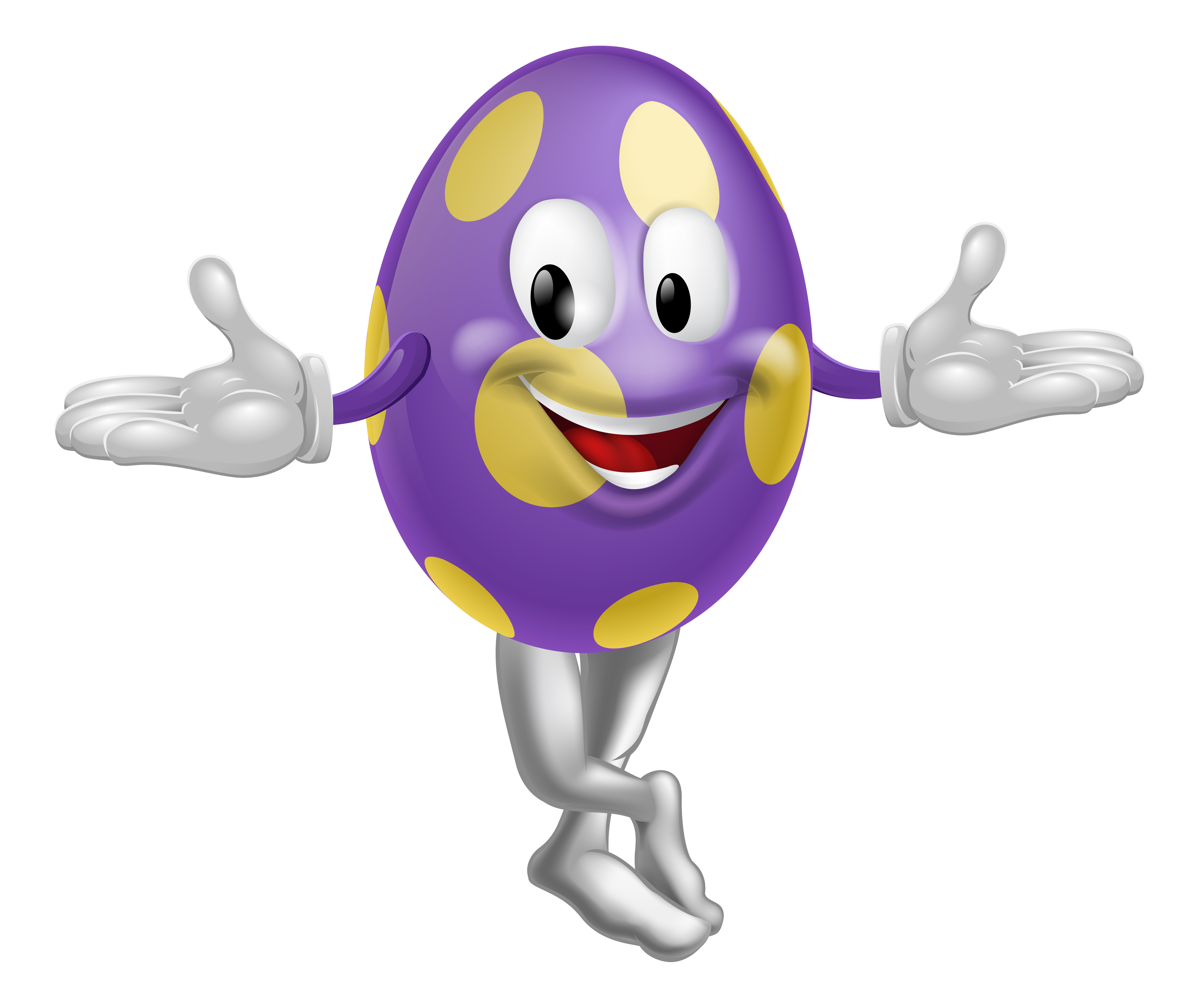 the mascot of the giant easter egg hunt melbourne