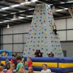 Climb the Giant Inflatable Climbing Wall at this year's Giant Easter Egg Hunt!